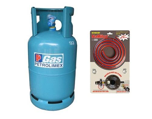 1 bình gas cả vỏ và ruột giá bao nhiêu?