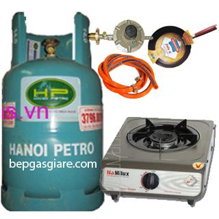 Bộ bếp gas đơn Namilux giá rẻ