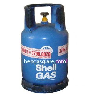Bình shell gas van ngang