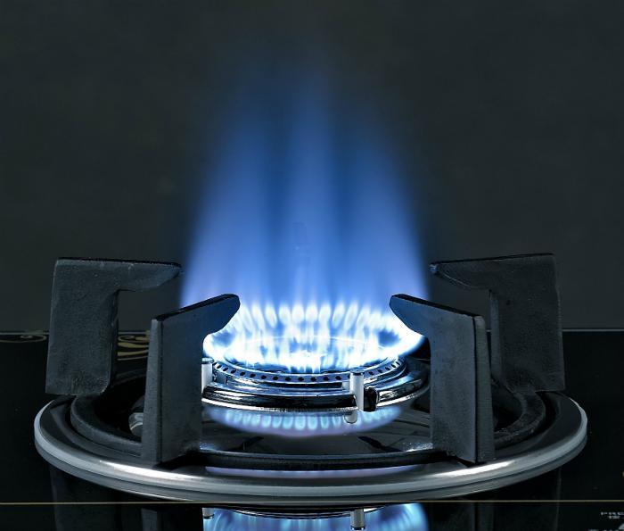 bếp gas đơn kính dynamic cho ngọn lửa xanh tiết kiệm gas khi đun nấu