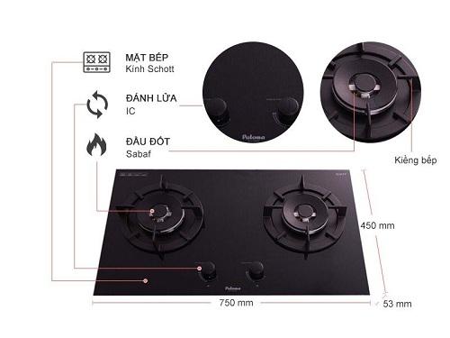 Tìm hiểu những ưu và nhược điểm của bếp gas âm Paloma