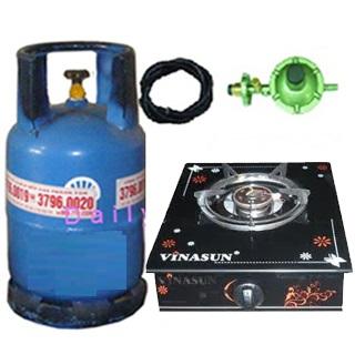 Bộ bếp gas đơn kính Vinasun