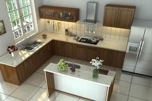 Vì sao không nên đặt bếp ở góc tường?