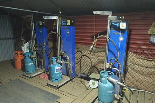 Xử lý gas lậu: vẫn chưa triệt để
