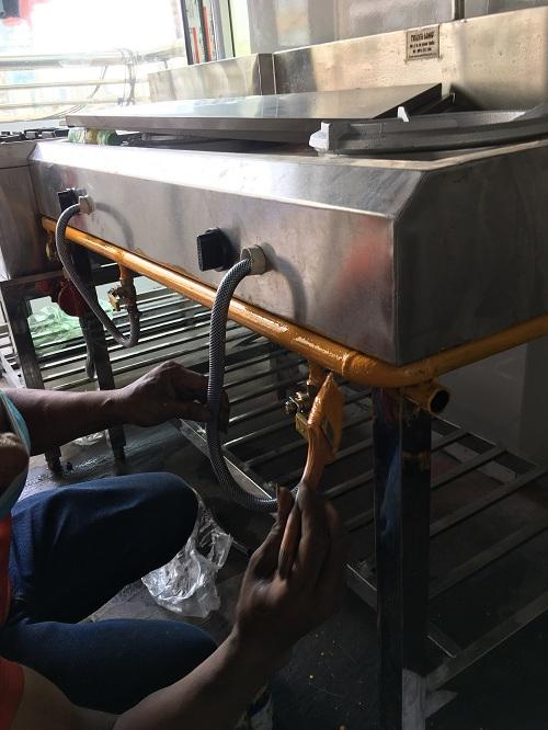 Mẹo sửa bếp gas công nghiệp cho bạn