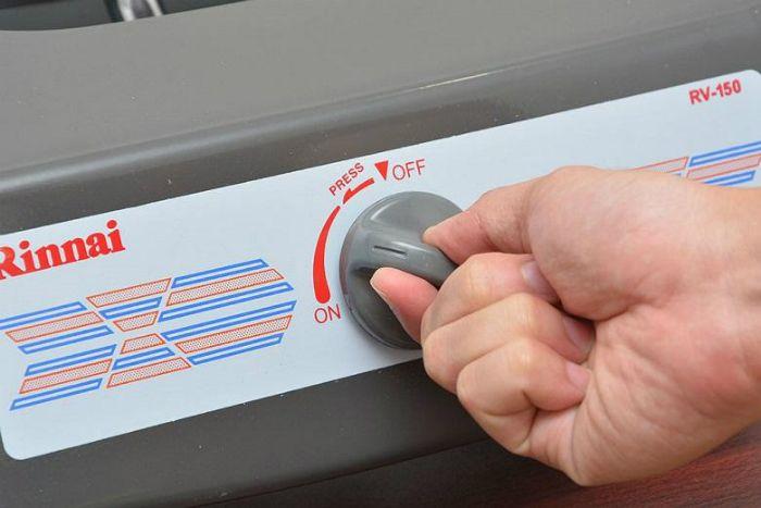 tắt bếp gas đúng quy trình