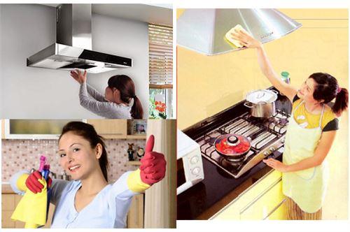 Vệ sinh thiết bị bếp inox
